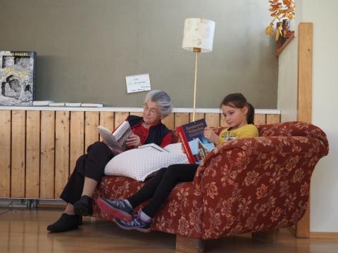 Lesen bewegt